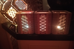 3x tea light oneofthelightsinmylife! different foils